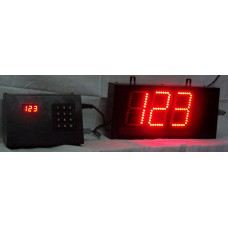 3 Digit  4 Inches Token Display LED type