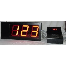 3 Digit 4 Inches Token Display System FND type